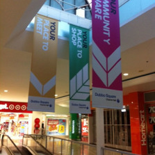 CENTRO HANGING BANNERS